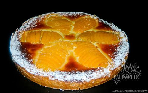 tarte bourdaloue pêche valence espagne