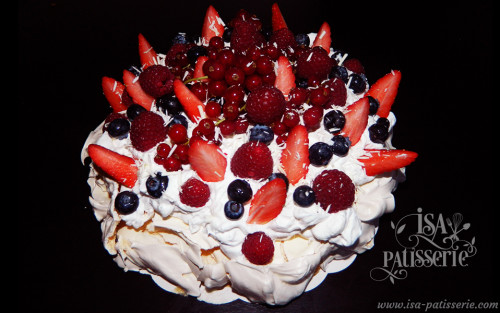 pavlova fruits rouges valence espagne