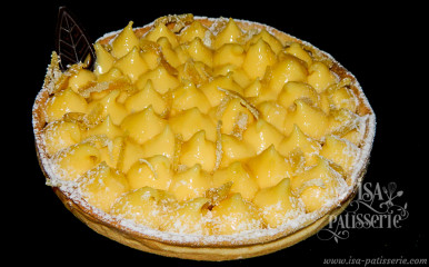 tarte au citron bio valence espagne