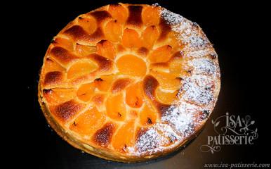 tarte amande abricot valence croissant