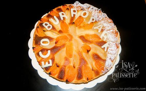 tarte crème d'amande abricot valence espagne