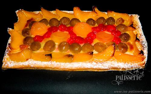 tarte aux fruits cuits valence espagne