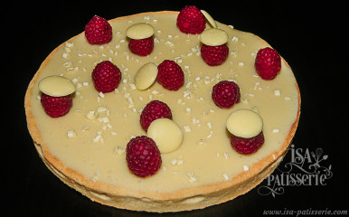 tarte au chocolat blanc valence espagne
