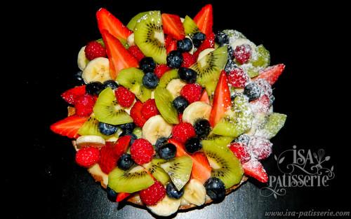 tarte fruits en folies valence espagne
