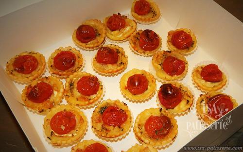tartelette tomate chèvre herbes de Provence valence espagne