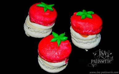 macaron vanille fraise valence espagne