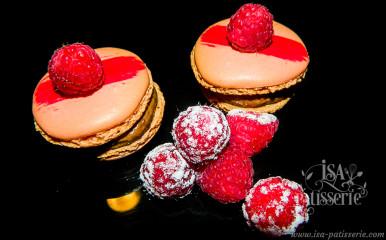 macaron chocolat framboise valence espagne