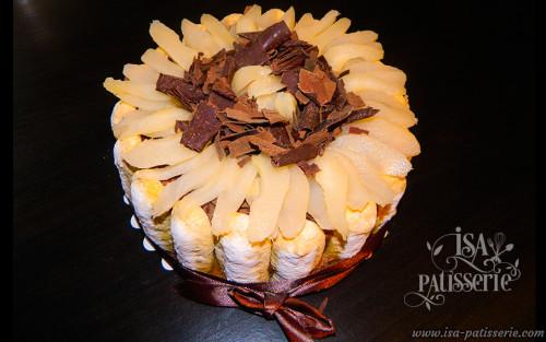 charlotte poire chocolat valenc espagne