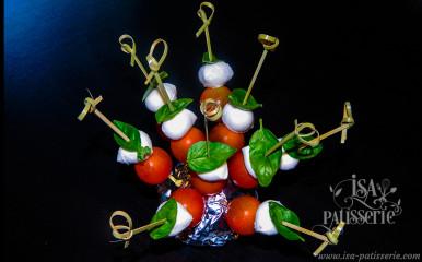 brochette tomate cerise mozzarella basilic valence espagne