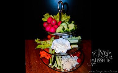 corbeille de légumes frais valence espagne