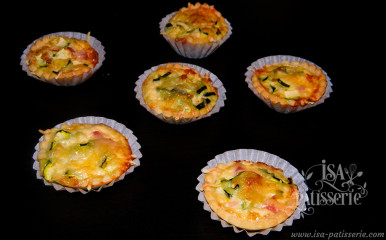 Mini Quiche Jambon Courgette