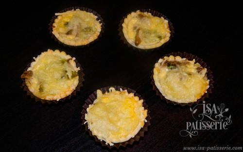 Mini Tartelette Confit de Porc Poivron valencia espagne