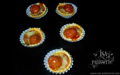 Mini quiche Thon Tomate valencia espagne