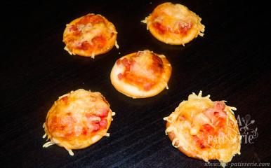 Mini Pizza Jambon Fromage valencia espagne