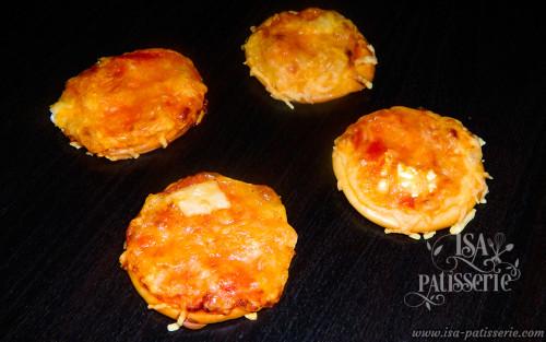 mini pizza chèvre mozzarella valence espagne