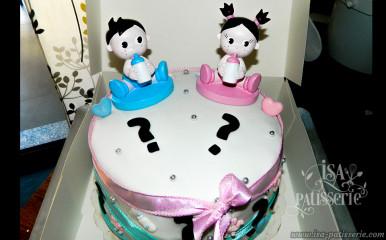 Gâteau Baby Shower Valencia Espagne