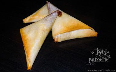 samossa foie gras figue valencia espagne