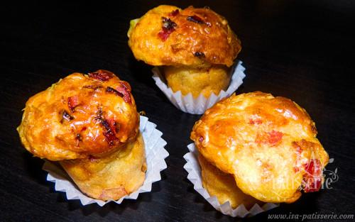 mini muffin tomate séchée et chorizo valence espagne