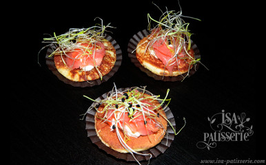blinis crème saumon valencia espagne