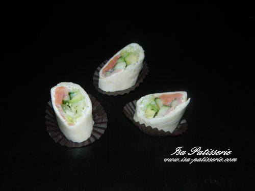 wrap saumon valencia