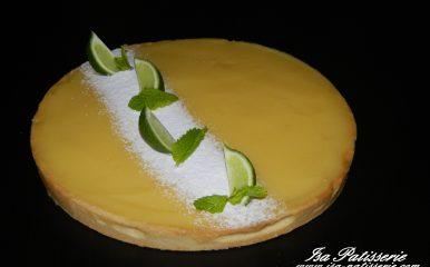 tarte citron menthe valencia
